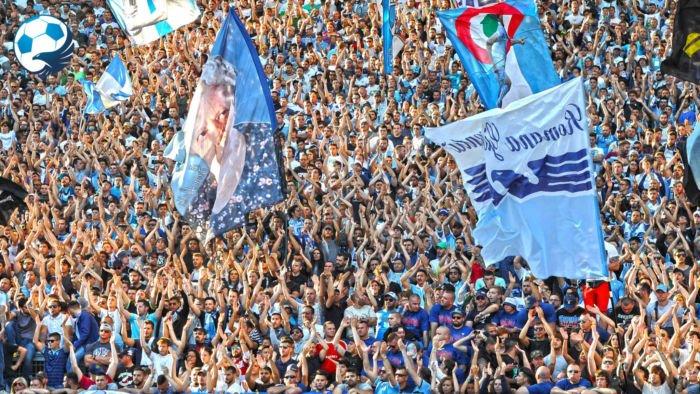 Curva Nord Lazio bandiera sora Lella Donati