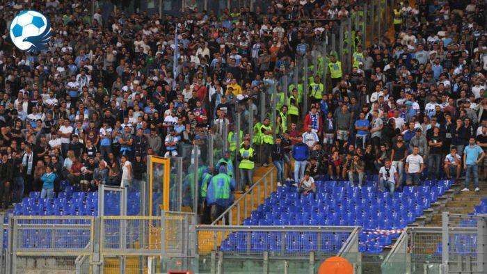 Barriere in Curva Nord Lazio Udinese