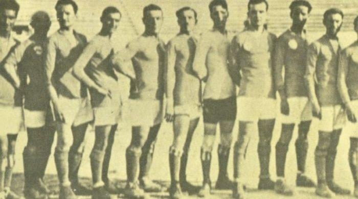 la formazione della Lazio 1914-1915