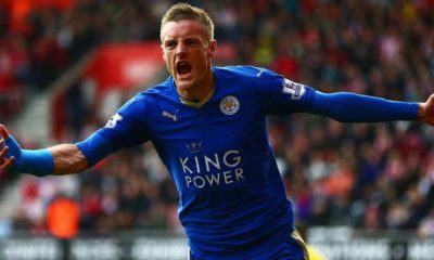 James Vardy attaccante inglese del Leicester City