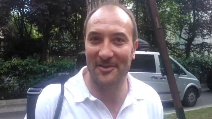 Gigi Casiraghi ex attaccante della Lazio e della Nazionale