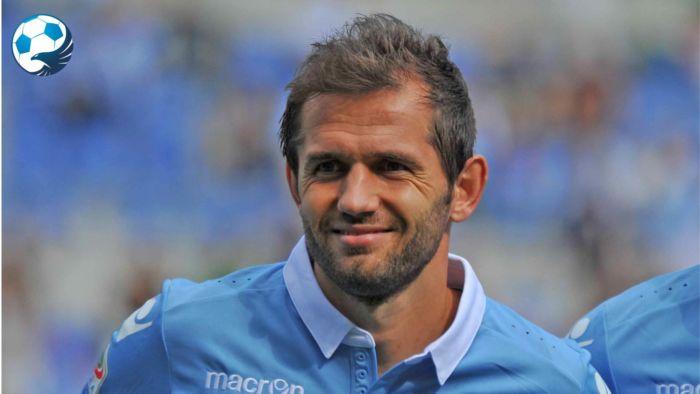 Senad Lulic centrocampista della Lazio