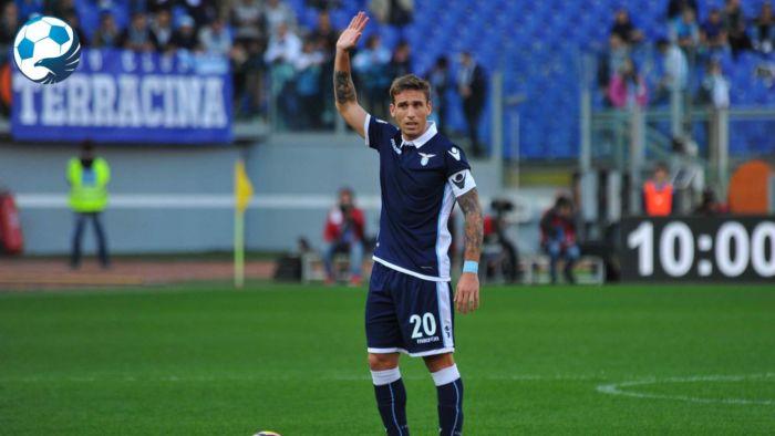 Il capitano Lucas Biglia nella stagione 2016-2017