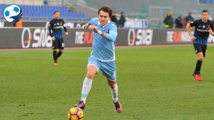 Patric in azione con la maglia della Lazio
