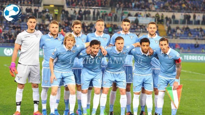 La formazione della Lazio