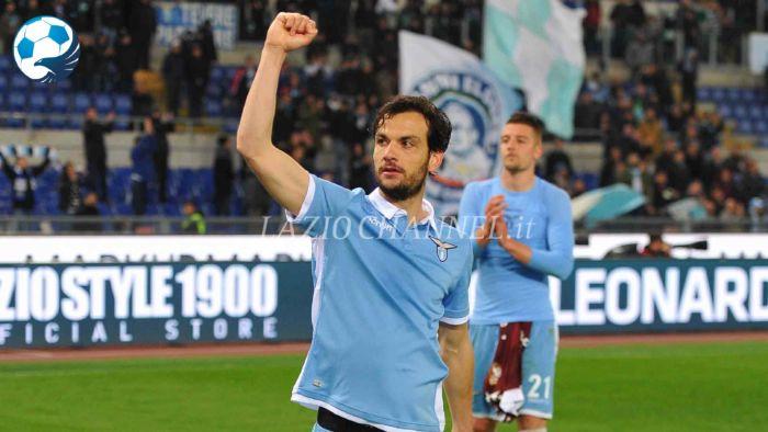 Marco Parolo centrocampista della Lazio