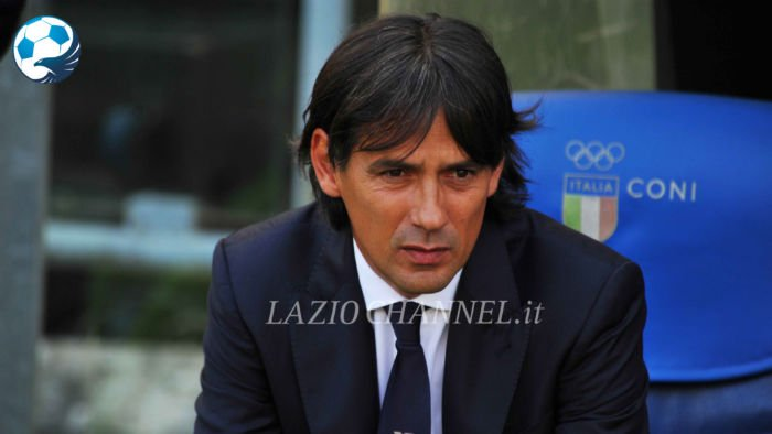 Il tecnico della Lazio Simone Inzaghi