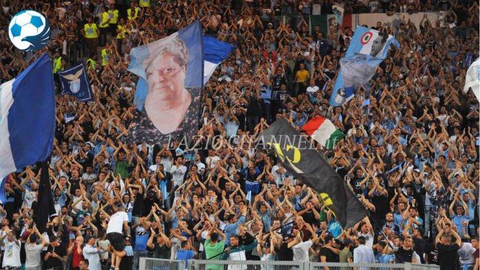 La Curva Nord a Juve Lazio di Tim Cup 2017