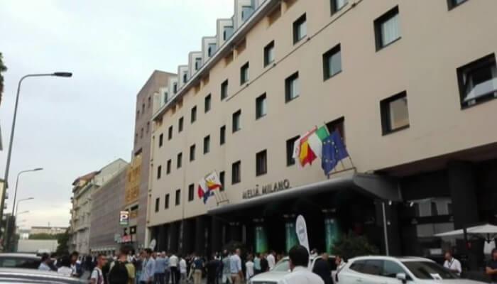 Calciomercato Hotl Melia Milano