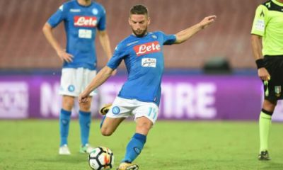 Dries Mertens attaccante del Napoli