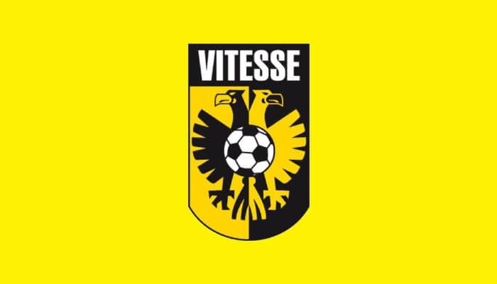 Il logo del Vitesse club olandese
