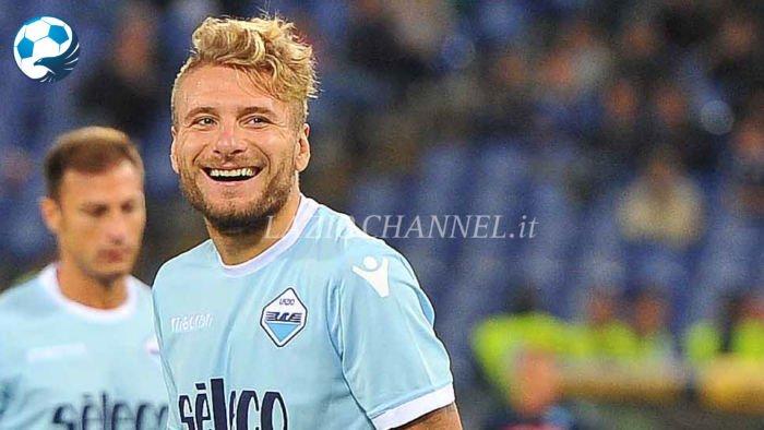Ciro Immobile durante Lazio Napoli