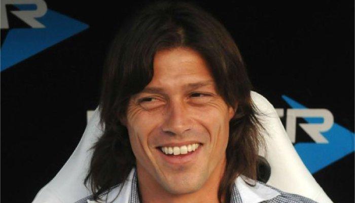 Matias Almeyda ex centrocampista della Lazio