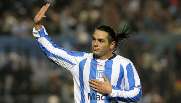 Lucas Castroman ex centrocampista della Lazio e dell'Argentina