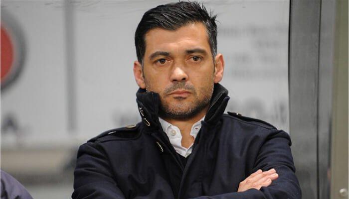 Sergio Conceicao allenatore del Porto