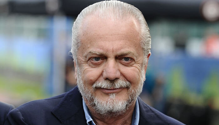 Aurelio De Laurentiis presidente del Napoli