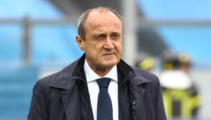 Delio Rossi ex allenatore della Lazio
