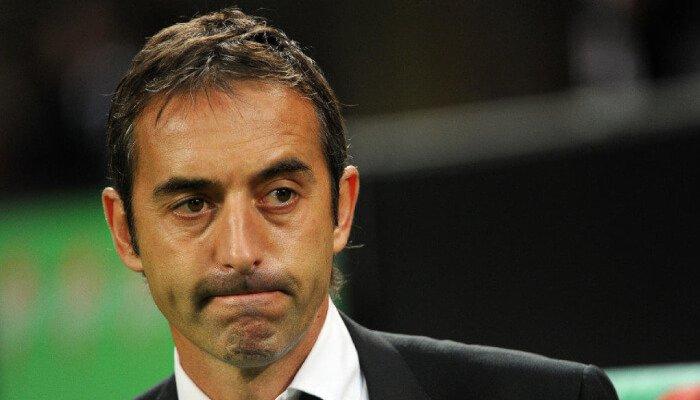 Marco Giampaolo allenatore della Sampdoria