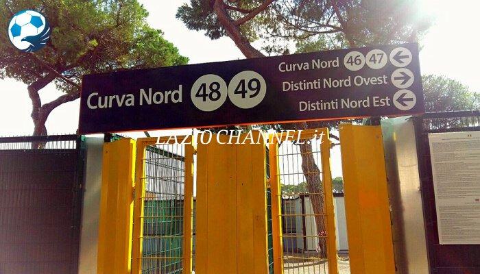 Ingresso Curva Nord stadio Olimpico