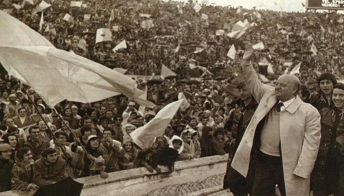 Umberto Lenzini ex presidente della Lazio del primo scudetto 1973-74