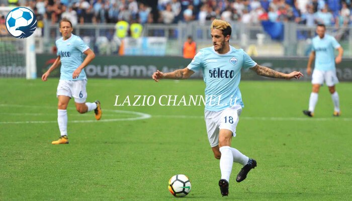 Luis Alberto in azione a Lazio Sassuolo