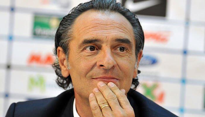 Cesare Prandelli allenatore italiano