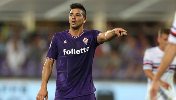 Giovanni Simeone attaccante della Fiorentina