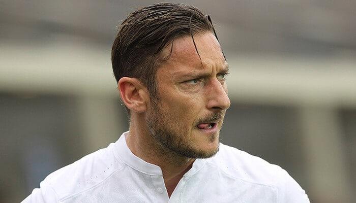Francesco Totti dirigente della Roma