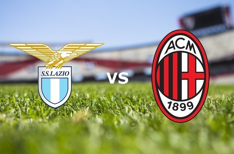 Lazio-Milan stemmi