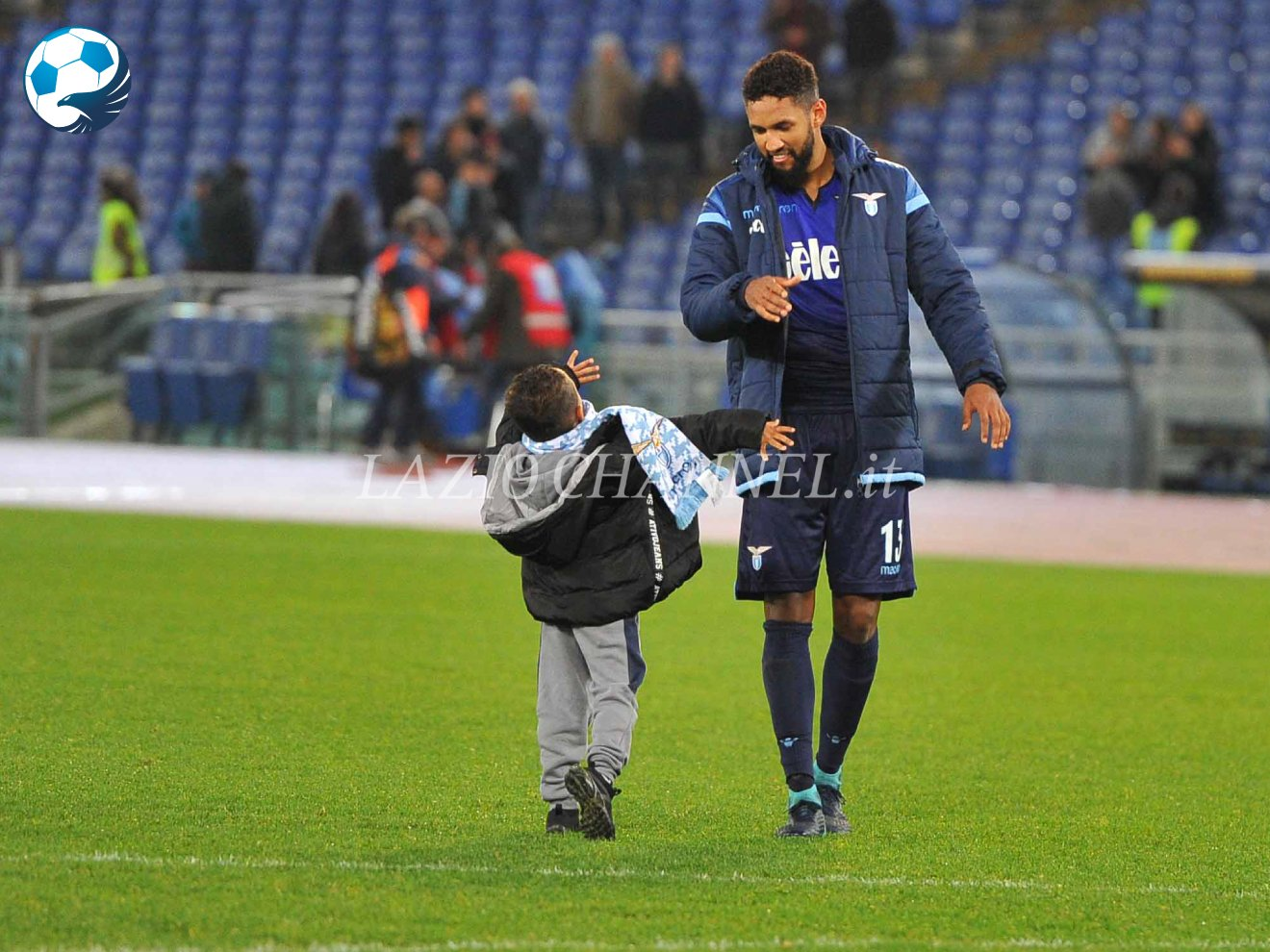 Wallace e figlio dopo Lazio Cittadella