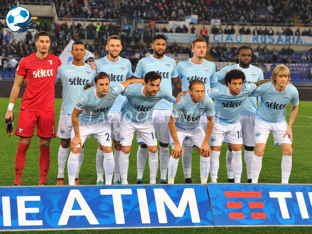 Formazione Lazio contro l'Udinese