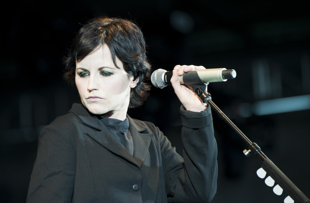 Dolores O'Riordan cantante dei The Cranberries