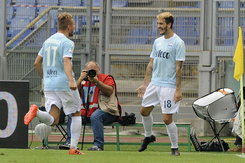 Immobile e Luis Alberto, attaccanti della Lazio