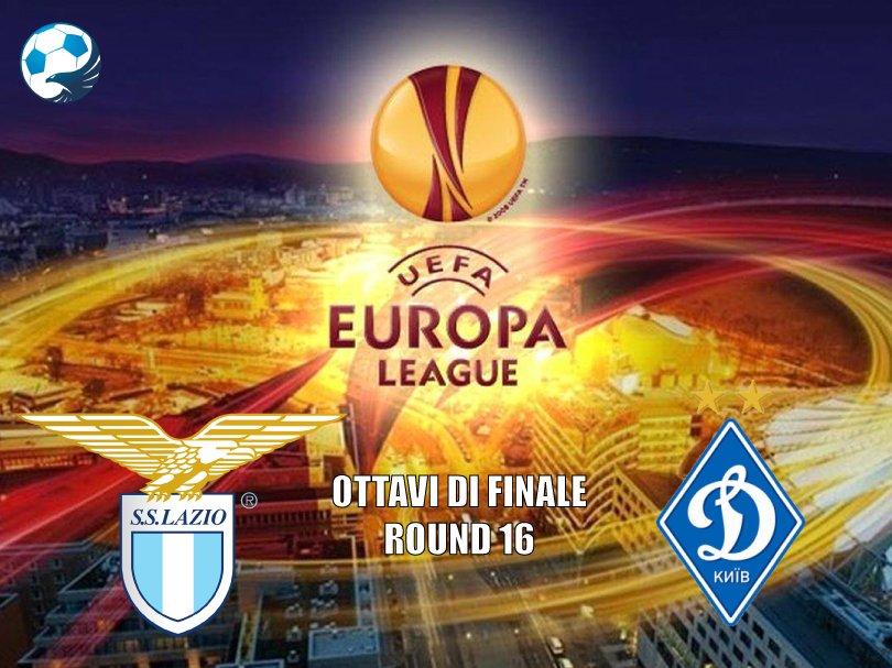 Lazio Dynamo Kiev ottavo di Europa League