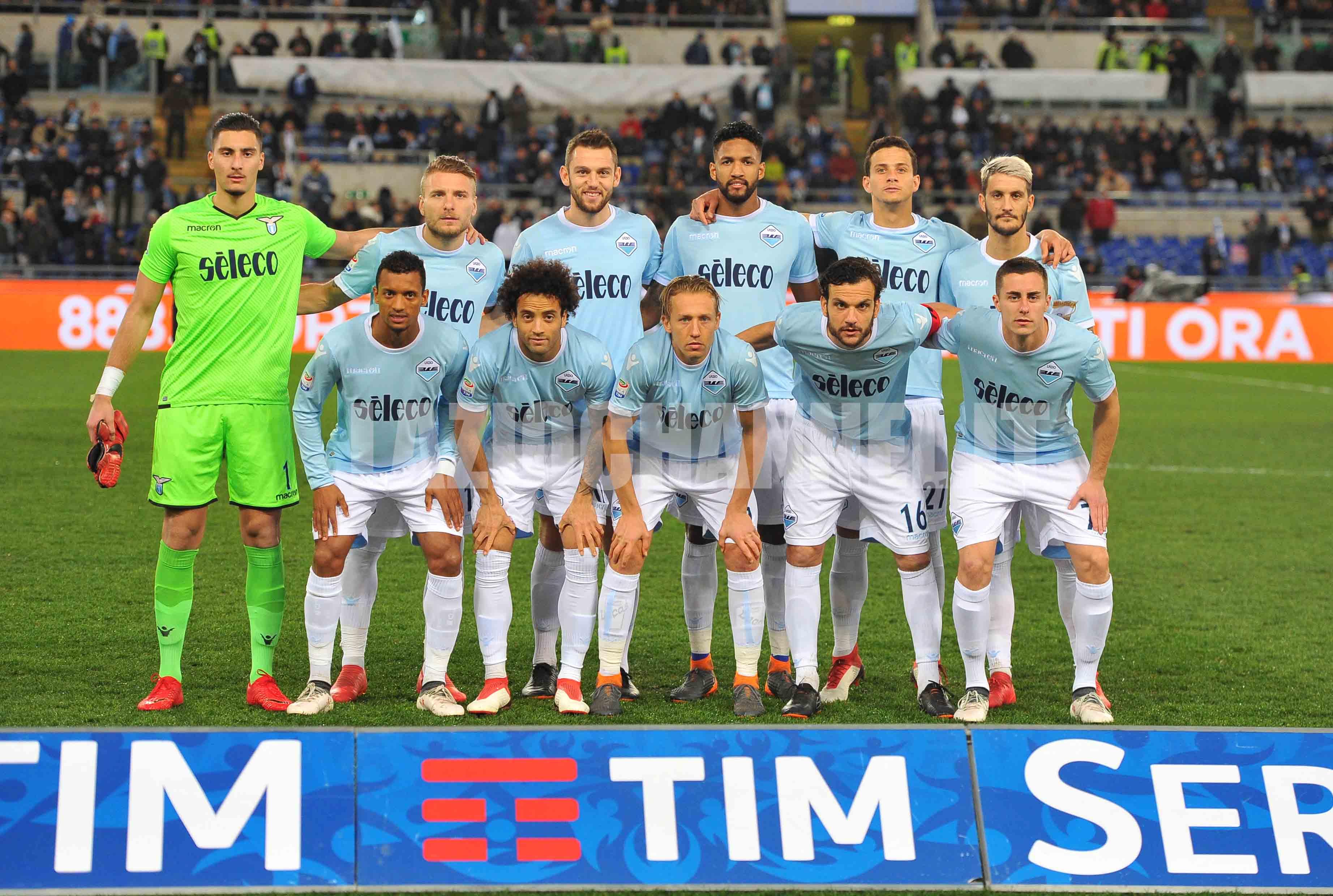 La formazione della Lazio contro il Bologna