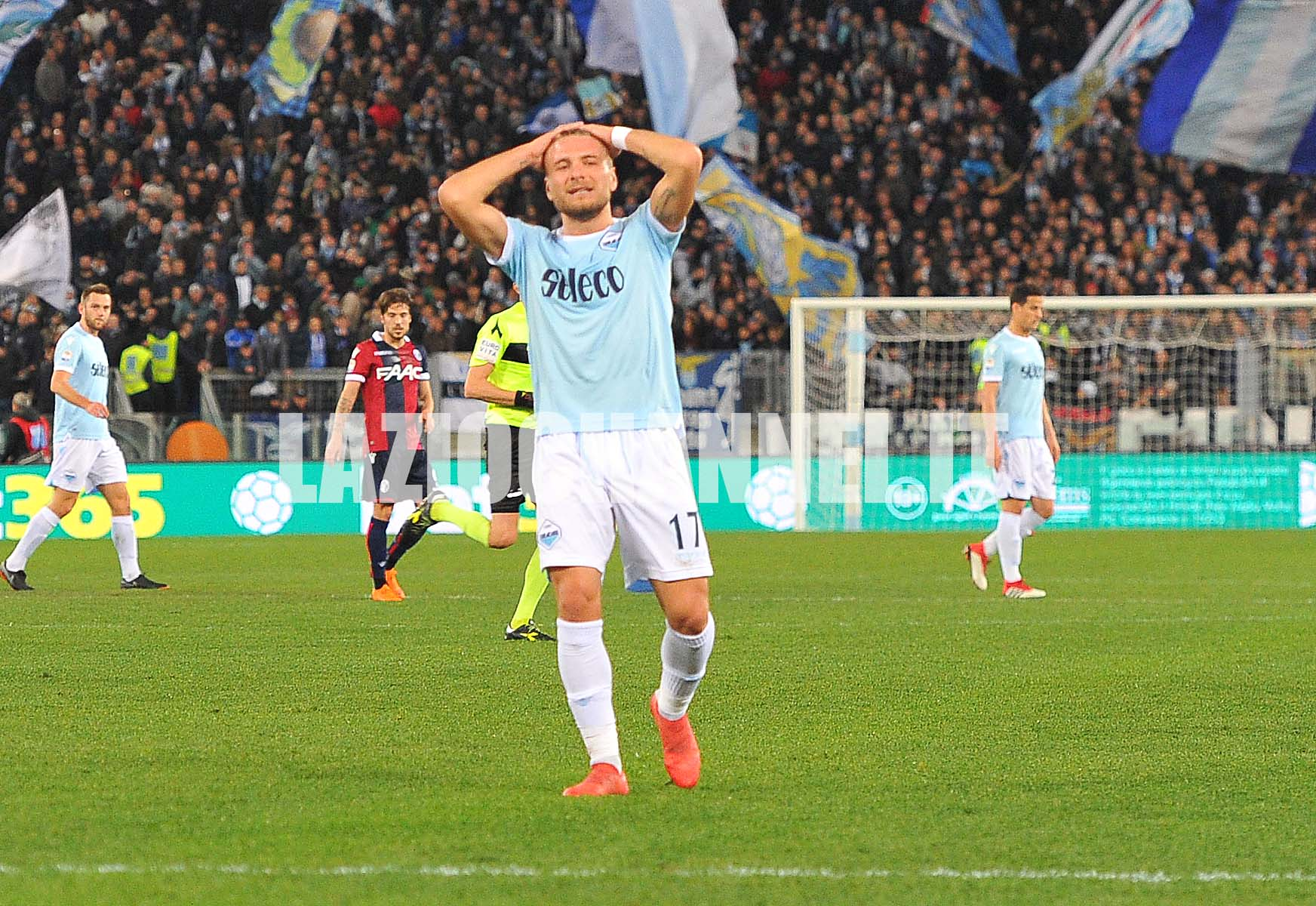 Ciro Immobile si dispera