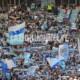 Curva Nord contro la Sampdoria