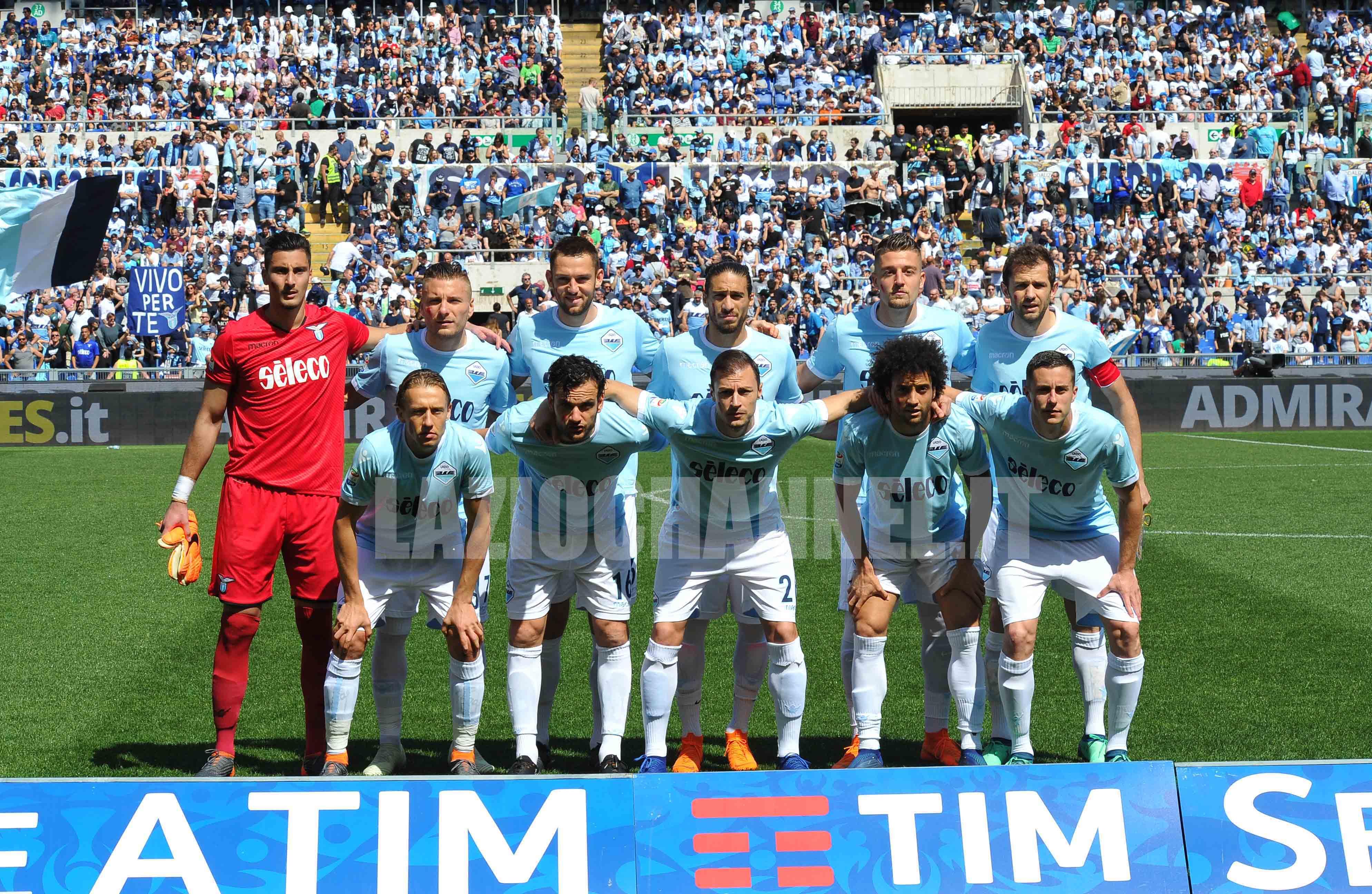 Formazione Lazio Sampdoria