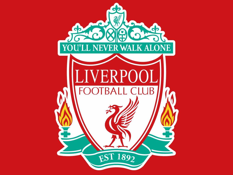 Il logo della società inglese Liverpool