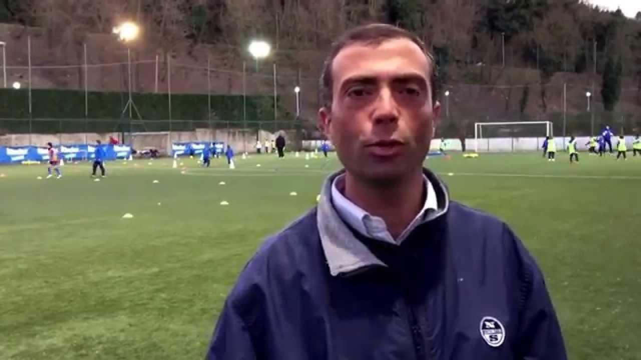 Stefano Orsini giornalista e tifoso biancoceleste