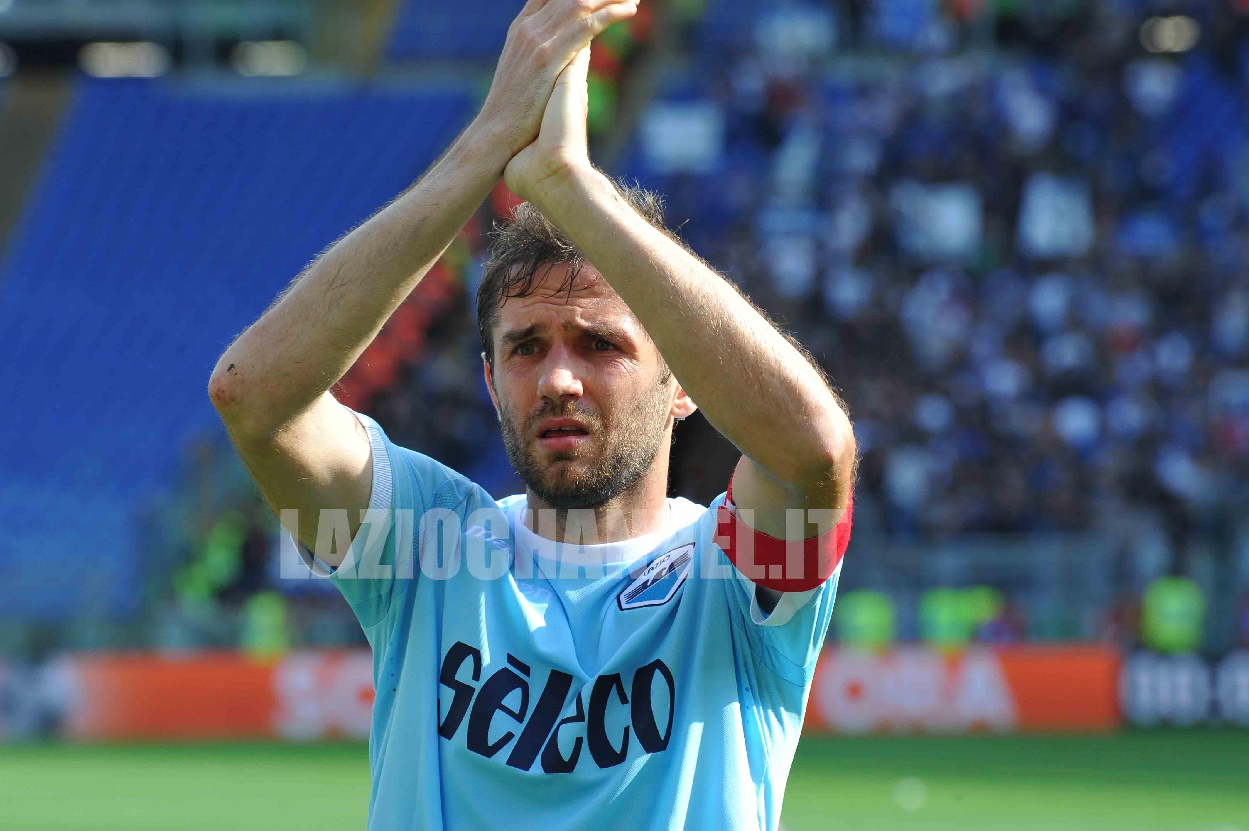 Lulic capitano della Lazio